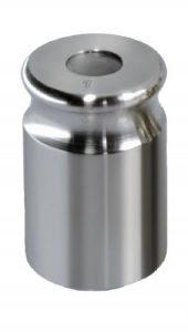 Poids individuel, forme cylindrique compacte, inox tourné